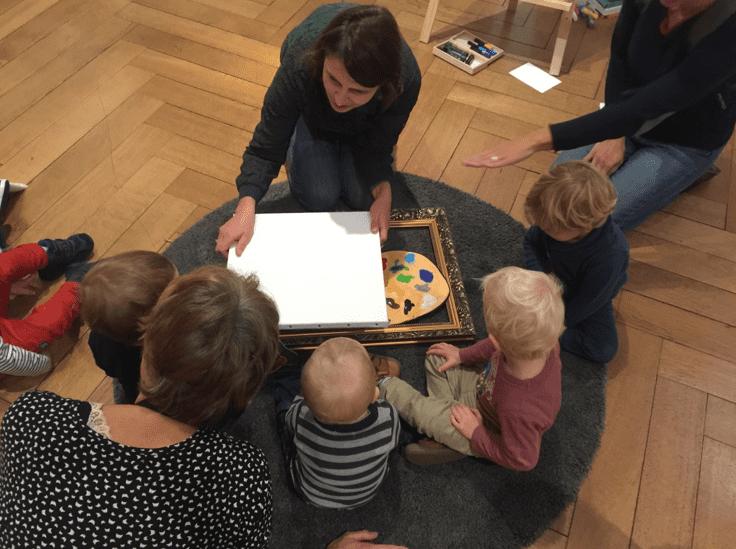 Le service des publics : Découverte sensorielle de l'art pour les tout-petits ©Musée des Beaux-Arts