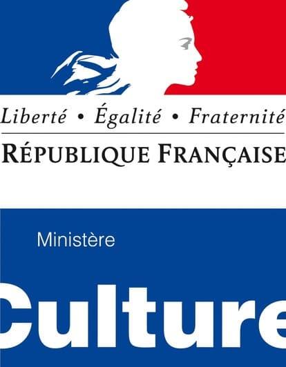 Logo république française, ministère de la culture